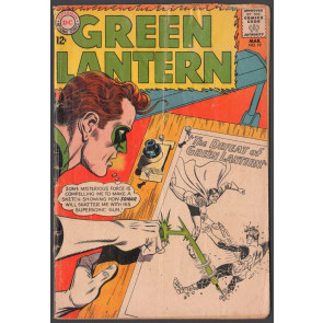 Green Lantern (1960) #19 VG- (3.5) vs Sonar
