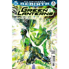 Green Lanterns (2016) #26 VF/NM Brandon Peterson Cover DC Universe Rebirth