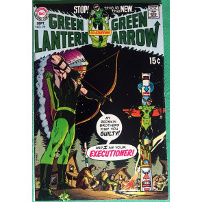 Green Lantern (1960) #79 with Green Arrow FN/VF (7.0) classic Adams & O'Neil
