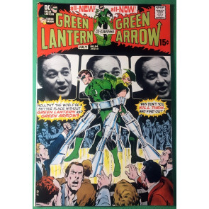 Green Lantern (1960) #84 VF- (7.5) Neal Adams cover & art