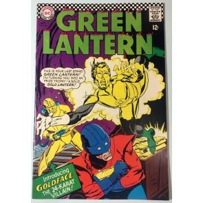 Green Lantern (1960) #48 VF- (7.5) 1st app Goldface