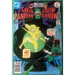 Green Lantern (1960) #97 VF- (7.5) with Green Arrow Mike Grell cover