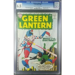 Green Lantern #1 (1960) CGC 6.5 F+ 1ST APP GUARDIANS OF THE UNIVERSE 0915730008|