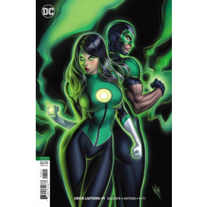 Green Lanterns (2016) #49 VF/NM (9.0) Warren Louw variant cover B
