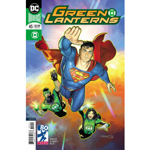 Green Lanterns (2016) #45 VF/NM 80 Years of Superman Variant Cover DC Universe