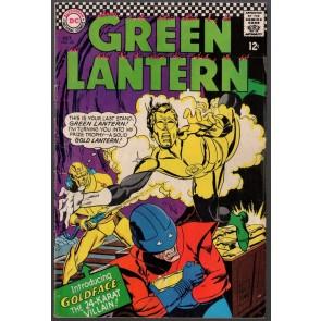 Green Lantern (1960) #48 VG/FN (5.0) 1st app Goldface