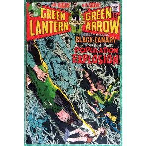 Green Lantern (1960) #81 with Green Arrow VF (8.0) classic Neal Adams & O'Neil