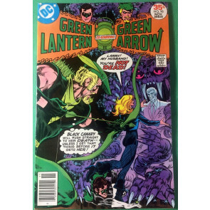 Green Lantern (1960) #98 VF+ (8.5) w/Green Arrow & Black Canary Mike Grell cover