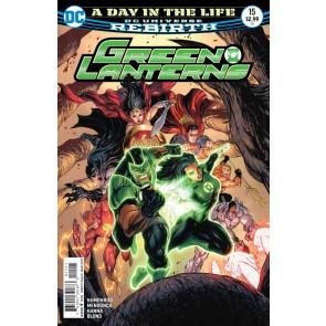Green Lanterns (2016) #15 VF/NM Kirkham Cover DC Universe Rebirth