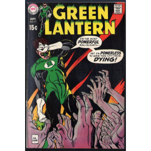 "Green Lantern (1960) #71 VF (8.0) ""The City That Died"""