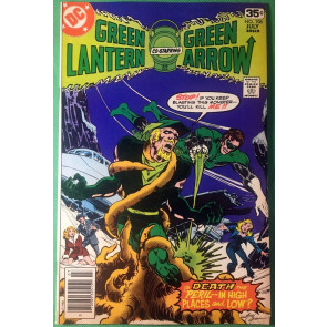 Green Lantern (1960) 106 FNVF (7.0) w/Green Arrow & Black Canary Mike Grell