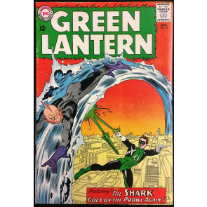 Green Lantern (1960) #28 VG (4.0) Origin & 1st app Shark