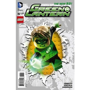 Green Lantern (2011) #36 VF/NM-NM Lego Variant Cover The New 52!