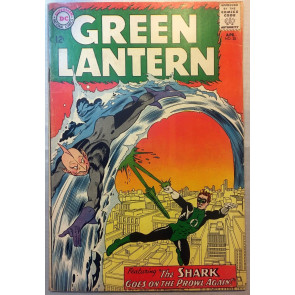 Green Lantern (1960) #28 VG (4.0) Origin and 1st appearance Shark
