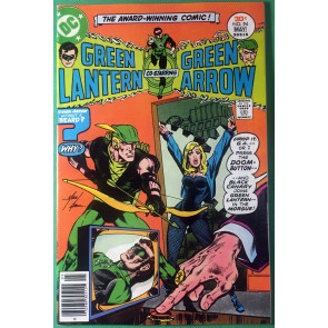 Green Lantern (1960) #94 VF- (7.5) w/Green Arrow & Black Canary Mike Grell cover
