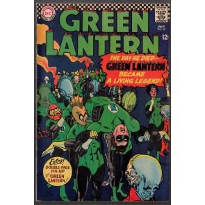 Green Lantern (1960) #46 FN (6.0) Green Lantern Corps app. 2 page pin up