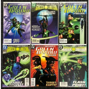 Green Lantern Green Arrow Complete 6 part Black Circle: Urban Knights Storyline
