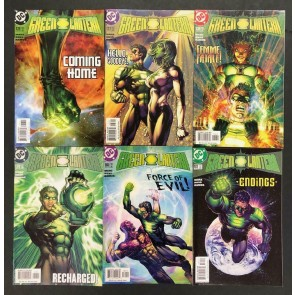 """Green Lantern (1990) #'s 176 177 178 179 180 181 Complete """"Homecoming?"""" Set"""