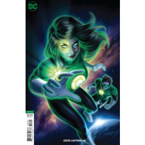 Green Lanterns (2016) #48 Warren Louw Variant Cover DC Universe
