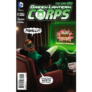 Green Lantern Corps (2011) #29 VF/NM-NM Robot Chicken Variant Cover
