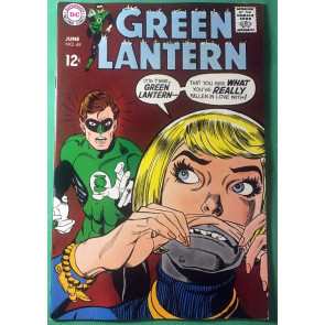 Green Lantern (1960) #69 VF (8.5) Wally Wood inks