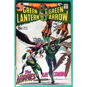 Green Lantern (1960) #82 with Green Arrow GD/VG (3.0) classic Adams & O'Neil