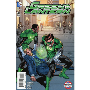 GREEN LANTERN (2011) #49 VF/NM NEAL ADAMS VARIANT COVER