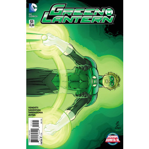 Green Lantern (2011) #51 VF/NM John Romita Jr Variant Cover