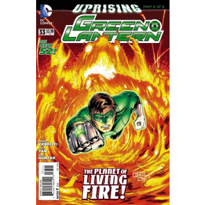 GREEN LANTERN #33 VF/NM UPRISING PART 5 OF 6 THE NEW 52!