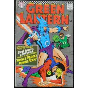 GREEN LANTERN #45 FN+ 2ND SILVER AGE APP GOLDEN AGE GREEN LANTERN IN TITLE