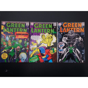 GREEN LANTERN #46, 48, 58 ATTRACTIVE MID GRADES BEST OFFER ACCEPTED
