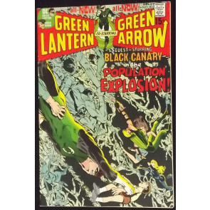 GREEN LANTERN #81 FN/VF GREEN ARROW NEAL ADAMS