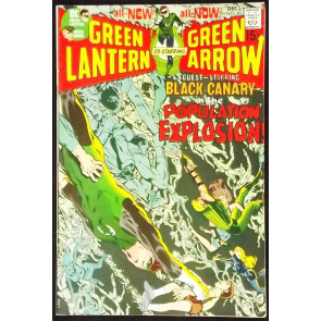 GREEN LANTERN #81 VF CLASSIC NEAL ADAMS GREEN ARROW
