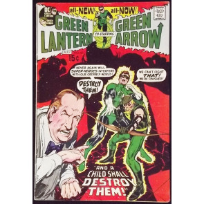 GREEN LANTERN #83 VG CLASSIC NEAL ADAMS GREEN ARROW
