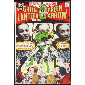 GREEN LANTERN #84 FN/VF CLASSIC NEAL ADAMS GREEN ARROW