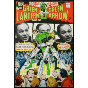 GREEN LANTERN #84 VF- GREEN ARROW NEAL ADAMS; WRIGHTSON