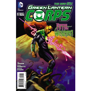GREEN LANTERN CORPS (2011) #22 VF/NM THE NEW 52!