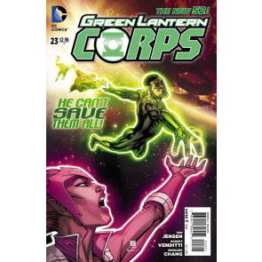 GREEN LANTERN CORPS (2011) #23 VF/NM THE NEW 52!