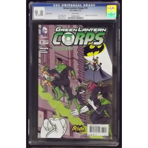 GREEN LANTERN CORPS (2011) #31 CGC 9.8 MIKE ALLRED BATMAN '66 VARIANT COVER