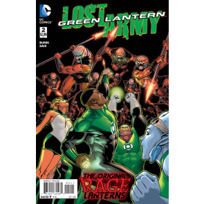 GREEN LANTERN: THE LOST ARMY (2015) #2 VF/NM