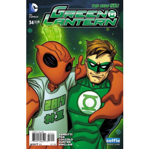 GREEN LANTERNS #34 VF/NM SELFIE VARIANT COVER THE NEW 52!