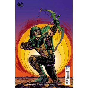 Green Arrow (2016) #40 VF/NM Mike Grell Variant DC Universe