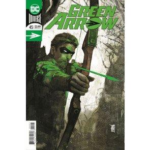 Green Arrow (2016) #45 VF/NM Alex Maleev Foil Cover DC Universe