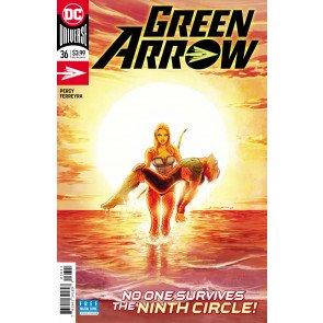 Green Arrow (2016) #36 VF/NM Juan Ferreyra Cover DC Universe CW