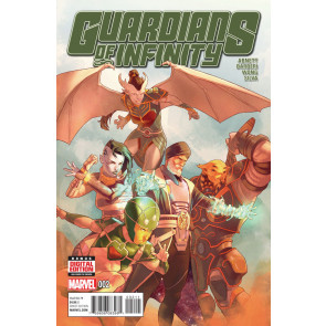 GUARDIANS OF INFINITY (2015) #2 VF/NM