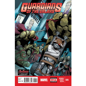 GUARDIANS OF THE GALAXY (2013) #26 VF/NM MARVEL NOW!
