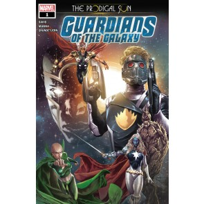 Guardians of the Galaxy: The Prodigal Sun (2019) #1 VF/NM Suayan A Cover