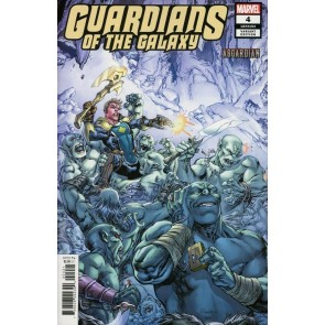 Guardians of the Galaxy (2019) #4 VF/NM Asgardian Variant Cover Ryan Benjamin