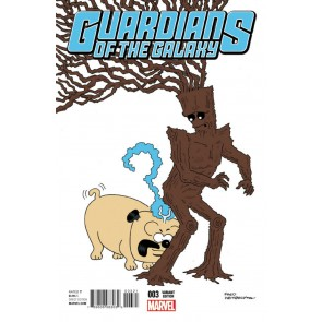 Guardians of the Galaxy (2016) #3 VF/NM Fred Hembeck Variant Cover