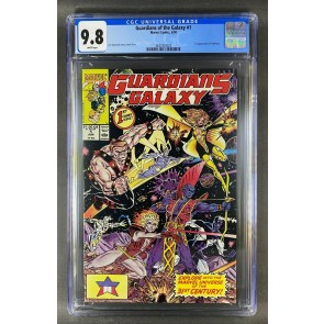 Guardians of the Galaxy (1990) #1 CGC Graded 9.8 White Pages (3822923023)